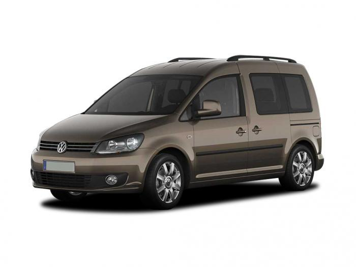 Минивэн Volkswagen Caddy - фото 1