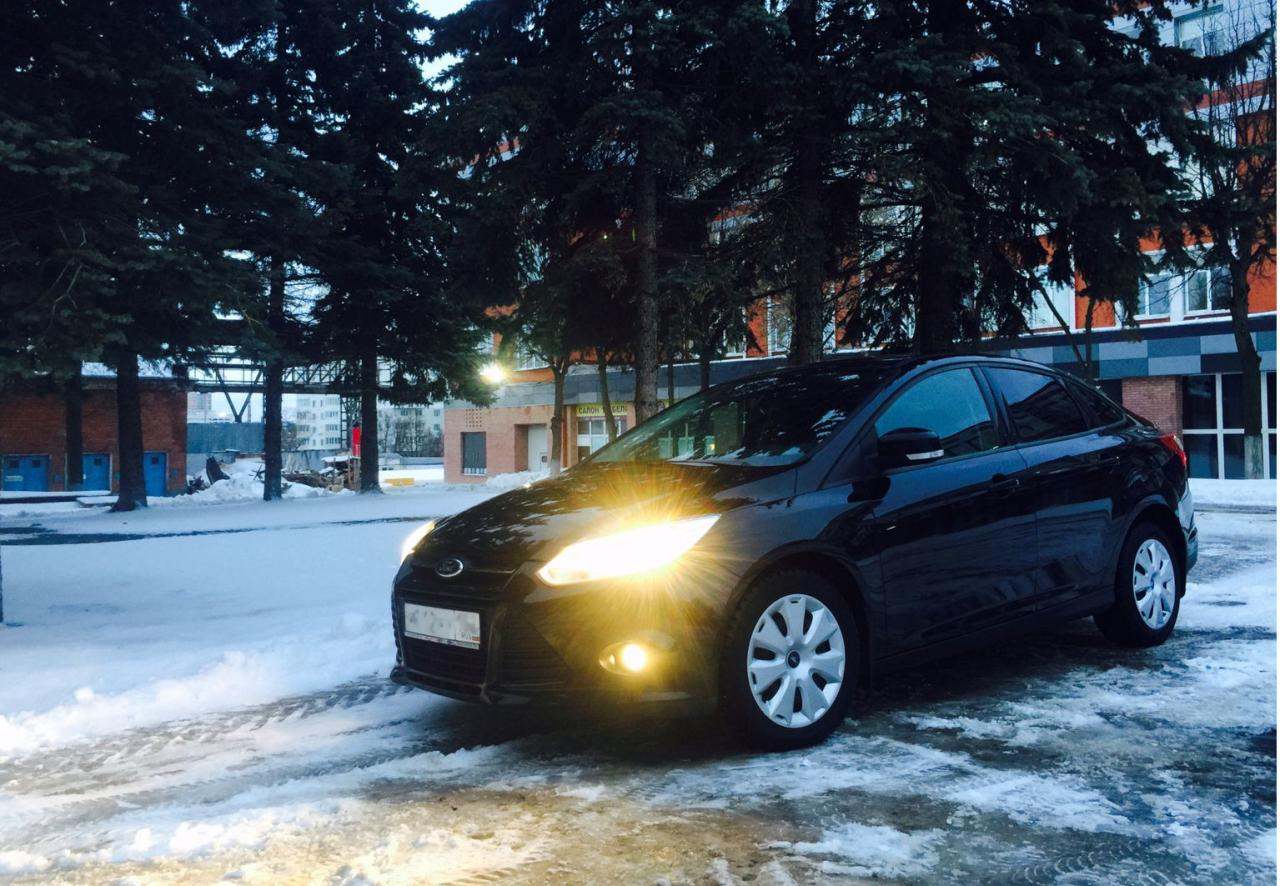 Седан Ford Focus III - #1